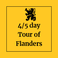 4/5 day tour of Flanders